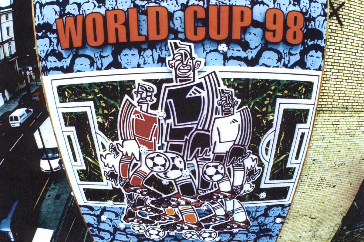 Studio Oscar - ADIDAS WORLD CUP 98