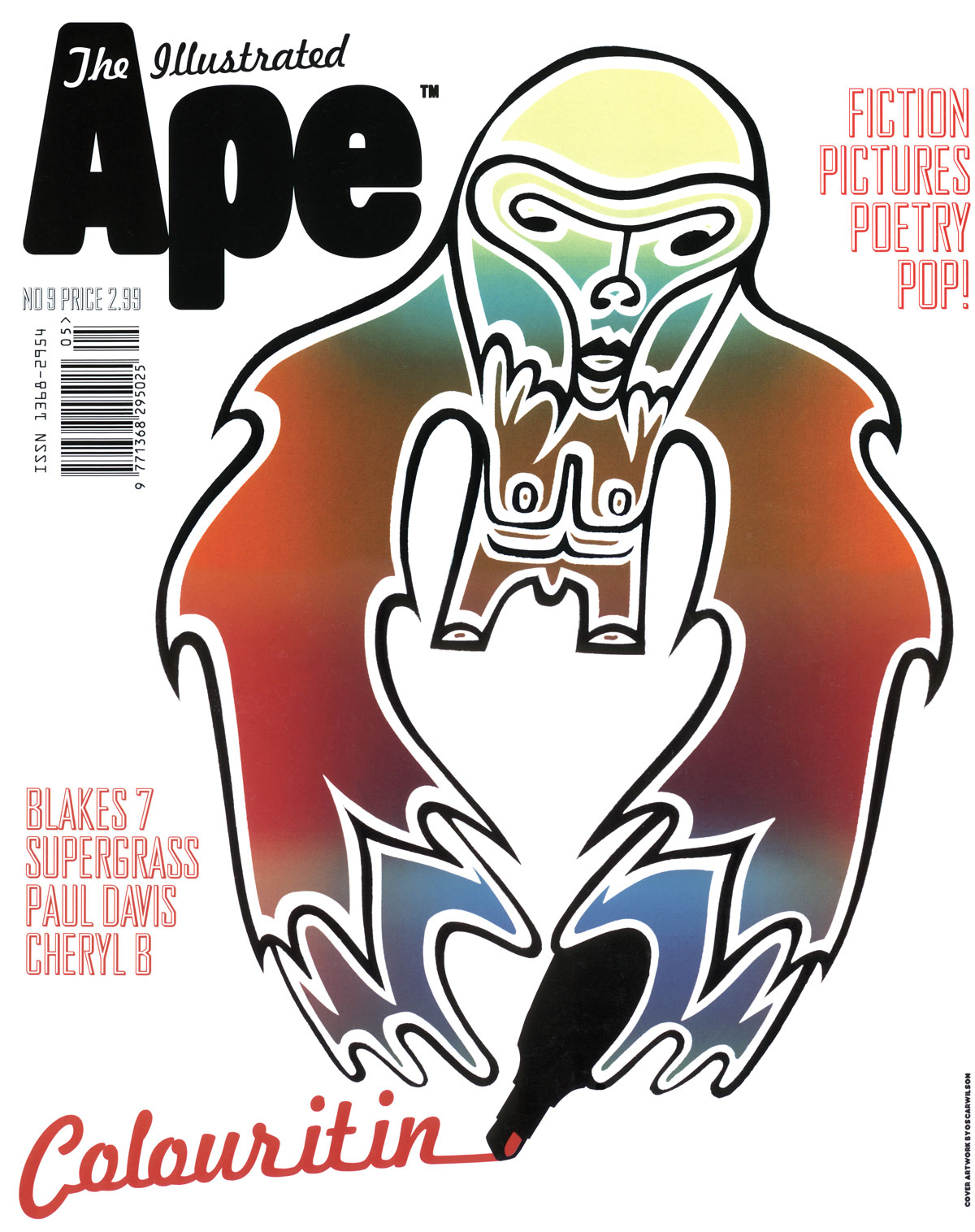 Studio Oscar - ILLUSTRATED APE MAGAZINE