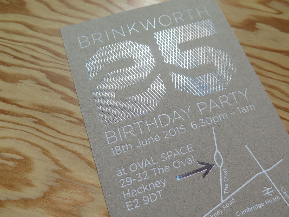 Studio Oscar - BRINKWORTH 25 SO GOOD SO FAR